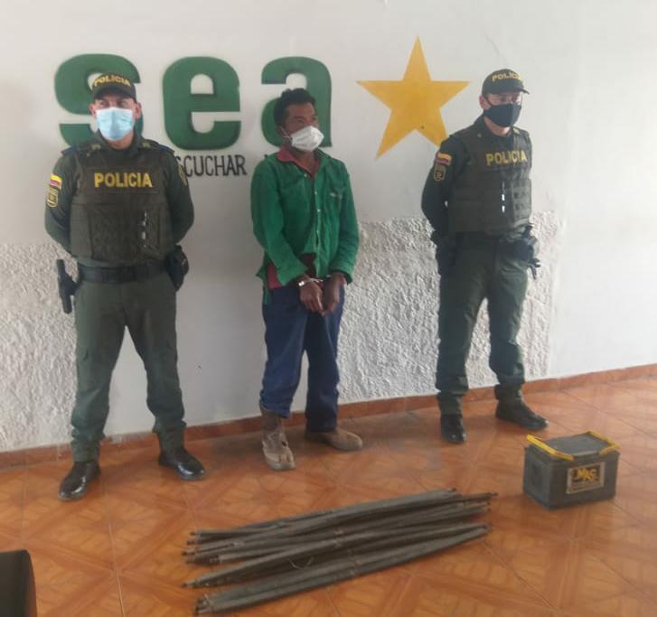 https://www.notasrosas.com/Policía Nacional lo captura por hurtar en Cerrejón, para vender en el mercado ilegal