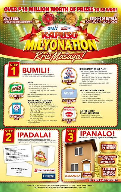 #KapusoMilyonation2019, GMA 7 kapuso milyonaryo, GMA7 promo, Philippines promotion, Promotion 2019 KapusoMilyonation!