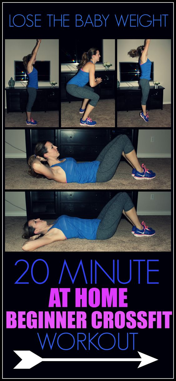 Beginner Crossfit Workout To Lose The Baby Weight