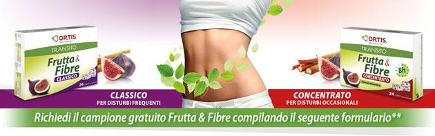 clicca qui per richiedere un campione dell'integratore Frutta & Fibre