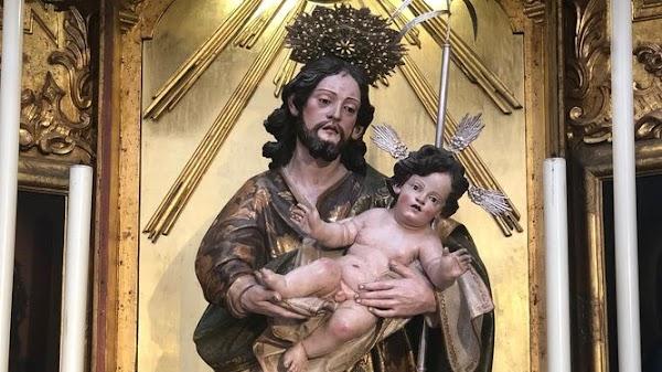 La imagen de San José será coronada este sábado en la Catedral de Cádiz