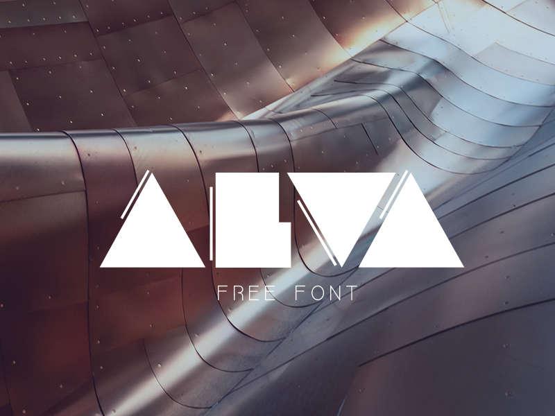 Download Font Terbaru 2016 - Alva Free Font