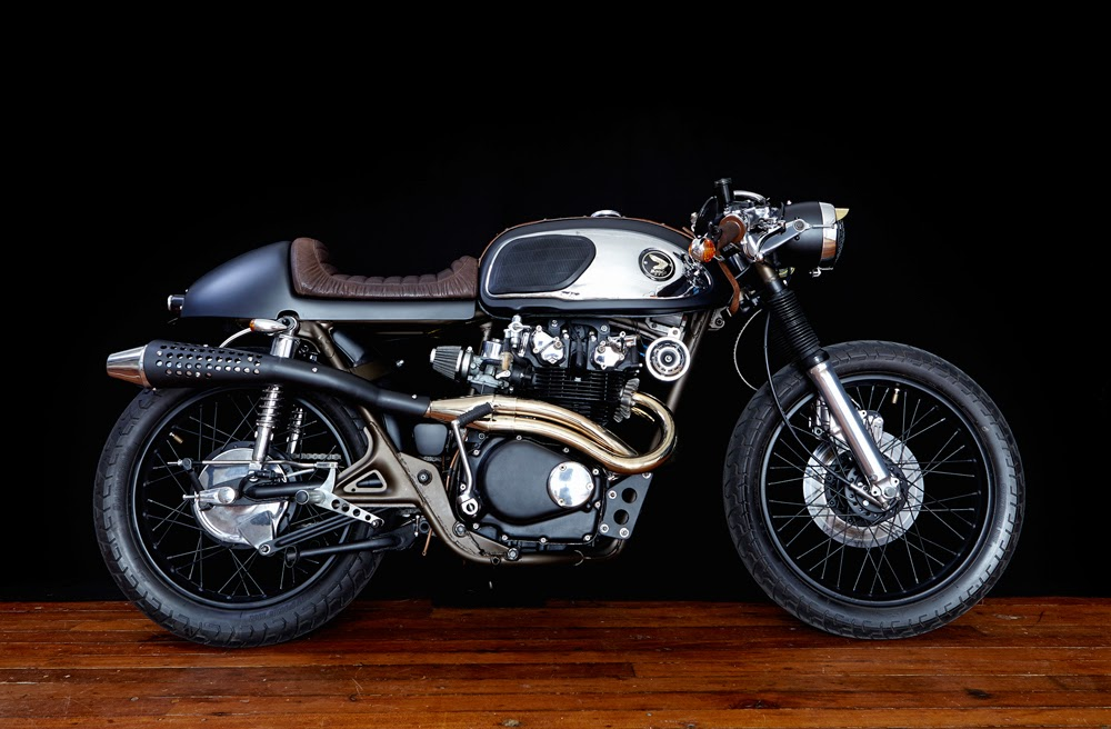tentacle paradox cb450 cafe racer ~ return of the cafe racers