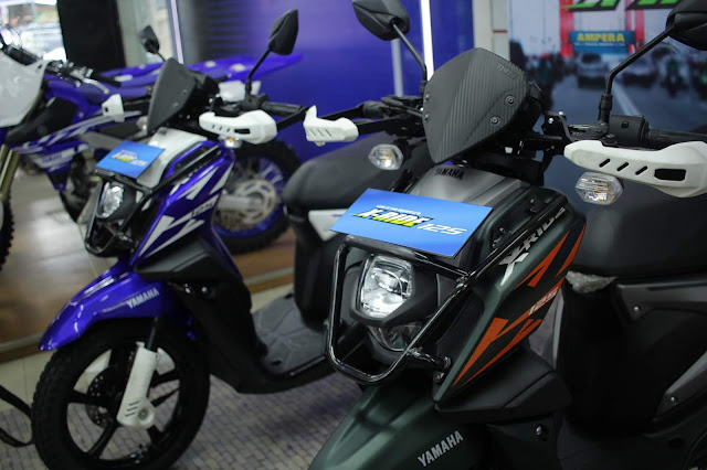 Warna Yamaha Xride terbaru