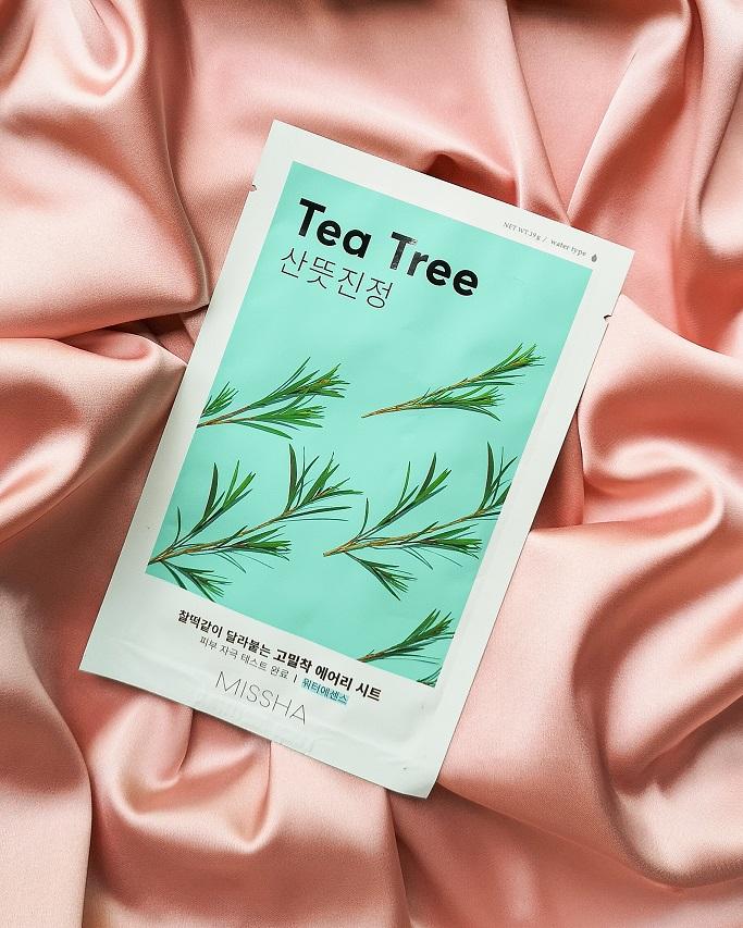 notino missha tea tree mask