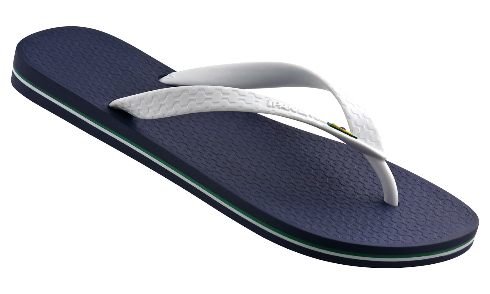 49705b411caded iPANEMA Flag Men s Flip Flops Navy White