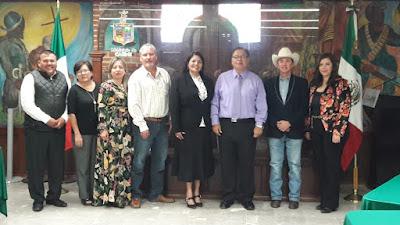 Participa alcalde Víctor Balderrama en la reunión de Alcaldes del Sur del Estado
