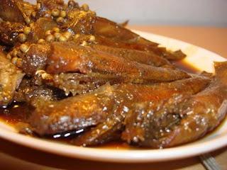 Món ăn ngon: cá bống kho tiêu