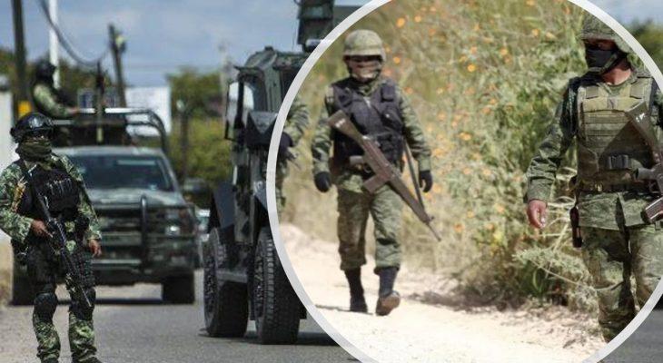 Soldados abaten a cuatro Sicarios al repeler agresión armada en Camargo; Tamaulipas