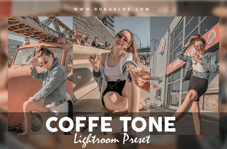 Hasil dari Preset COFFE TONE :