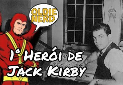 quadrinhos, hqs, quadrinista, jack kirby, primeiro heroi, corvo vermelho, red raven, marvel, oldie nerd, enquadrando, video,