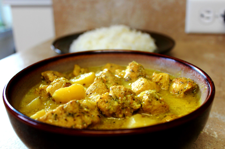 how to fix watery chicken curry