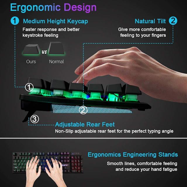 NPET K10 Gaming Keyboard
