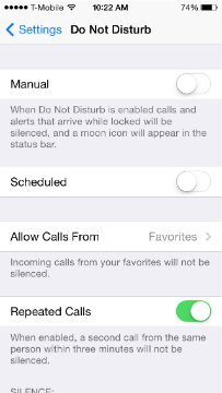How to block all calls on iphone 6
