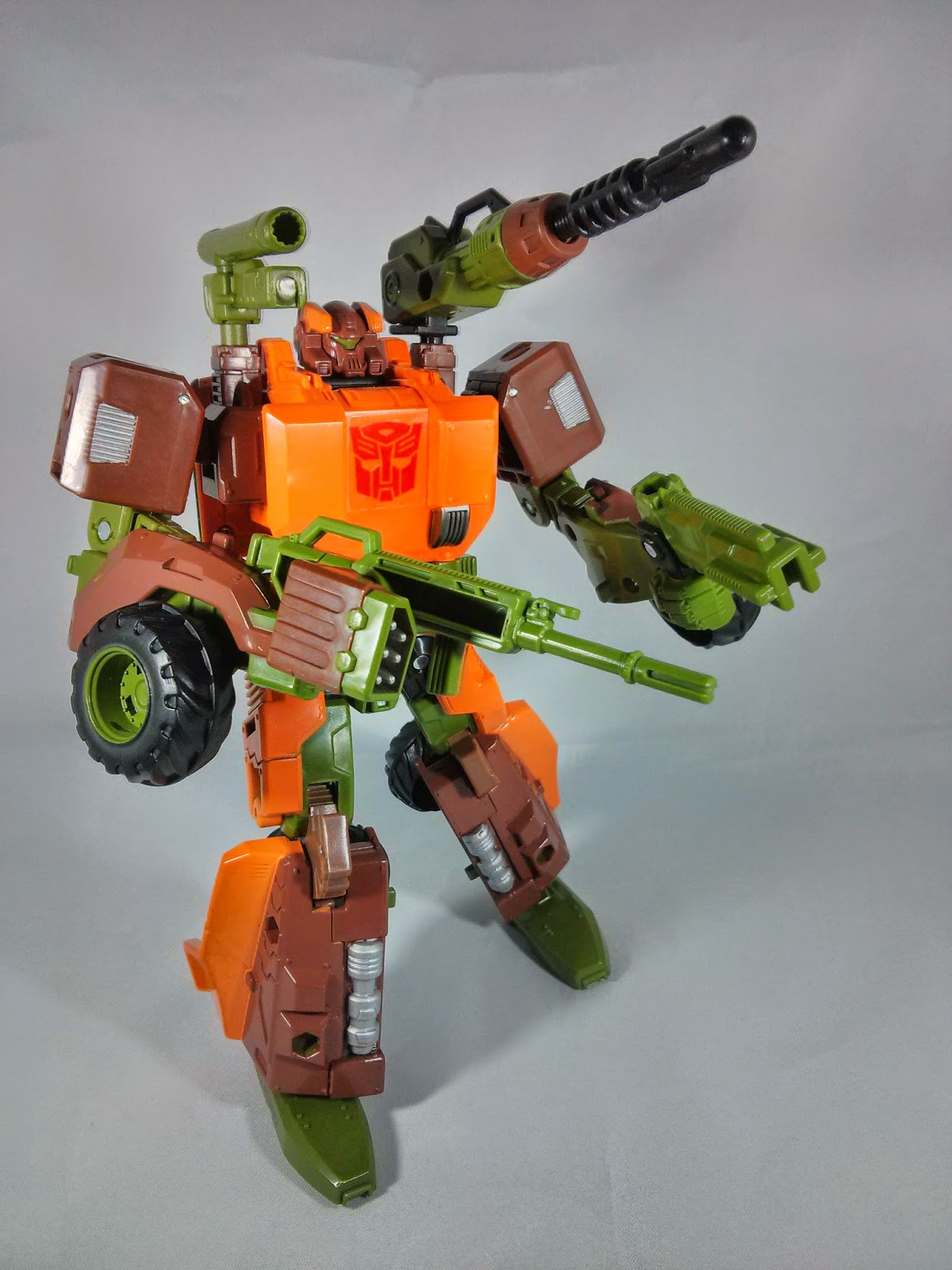 transformers generations roadbuster guns
