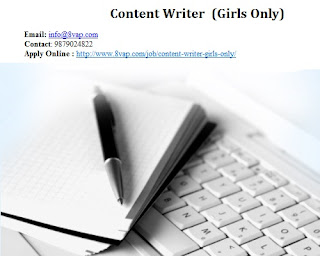 Content Writer (Girls Only)