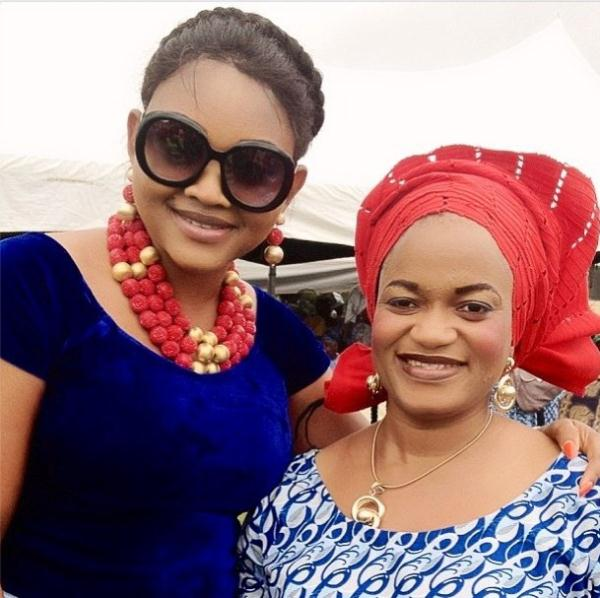 mercy aigbe husband mother