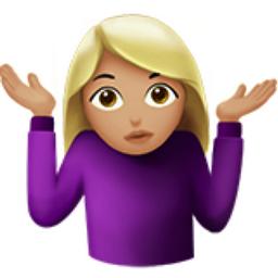 idrk emoji