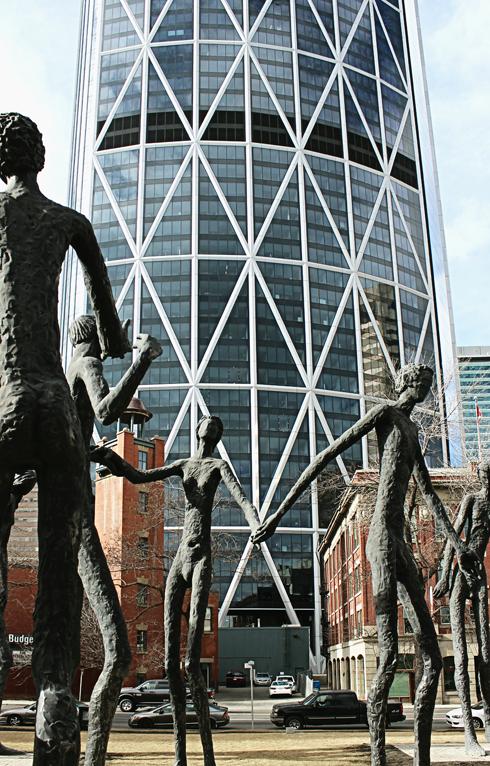 Downtown Calgary Alberta