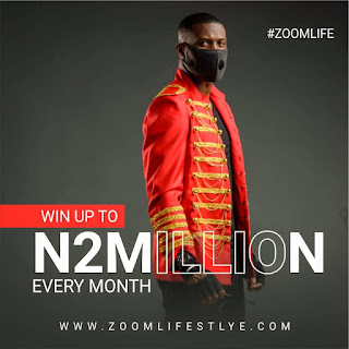 Peter Okoye, Mr. P Launches Online/Mobile Lottery 'ZoomLifeStyle'