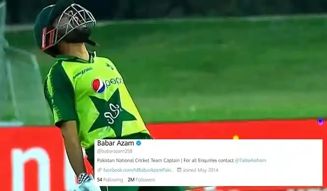 Another Landmark Achieves Babar Azam, This Time on Social Media