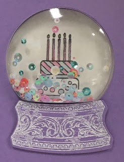 Stampin' Up!, Piece of Cake, Snow Globe Shaker Domes, www.stampingwithsusan.com,