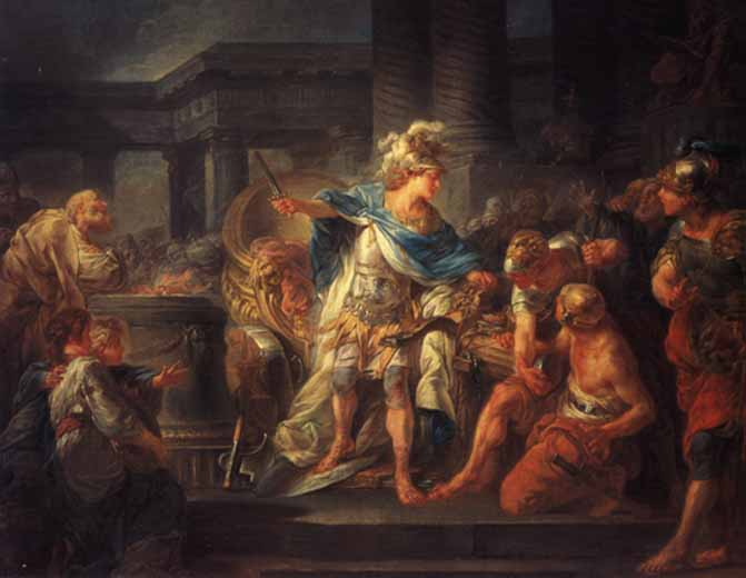 Alexander the great according to arrian