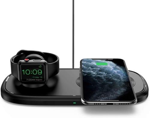 Seneo 2 in 1 Dual Wireless Charging Pad