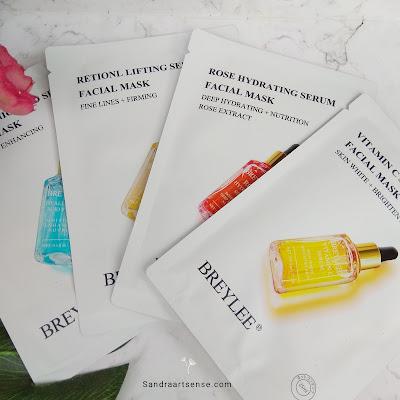 Breylee sheetmask serum
