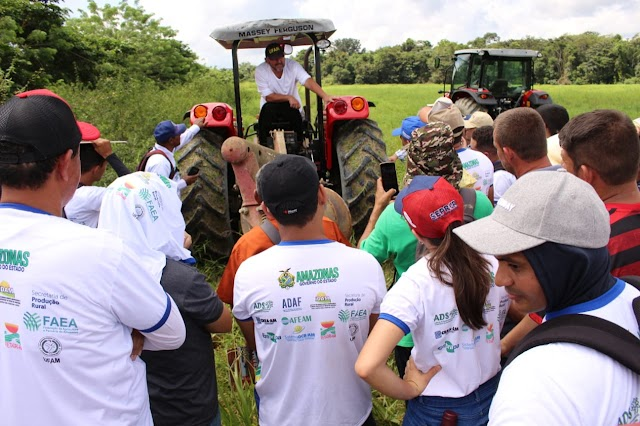 Governo do Amazonas capacita operadores de máquinas e representantes técnicos de 16 municípios do estado