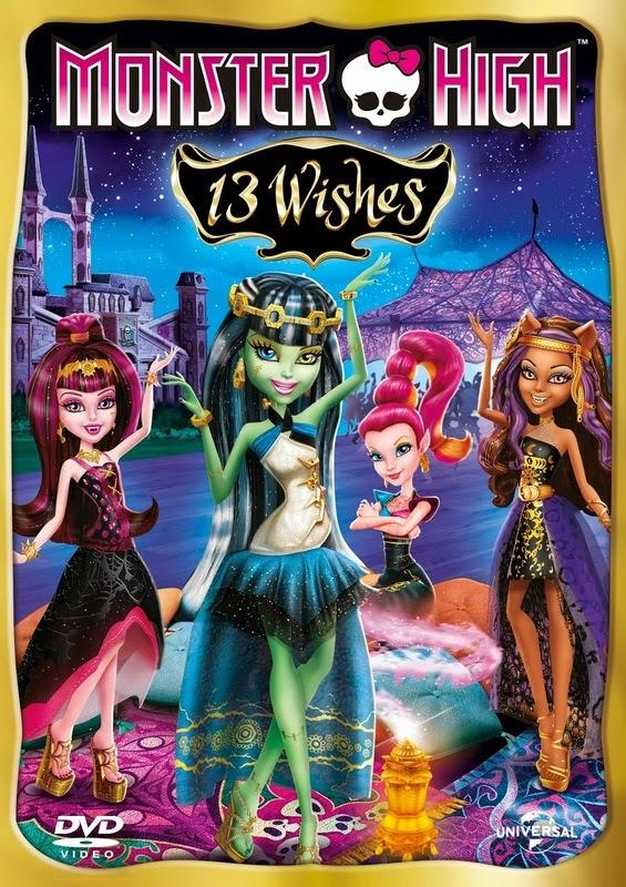 Monster High 13 Wishes 2013 [Hindi-English] Dual Audio 250MB BRRip 480p