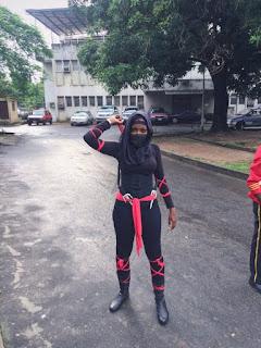 Nigerian Ninja Girl