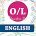 O/L  - English - Work sheet