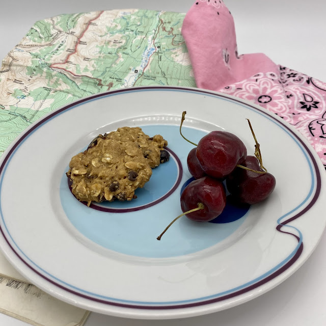 Ideal Hiking Cookies with Mini Chocolate Chips Oatemal and Cranberries