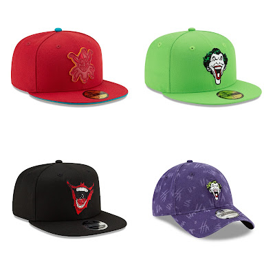 The Joker Hat Collection by New Era Cap x DC Comics