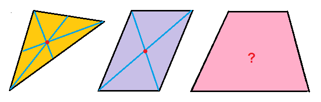 Chapuzas matemáticas: 685. El baricentro del trapecio. RESOLUCIÓN
