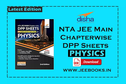 [PDF] Disha Physics NTA JEE Main Chapter-wise DPP Sheets (25 Questions Pattern) Download
