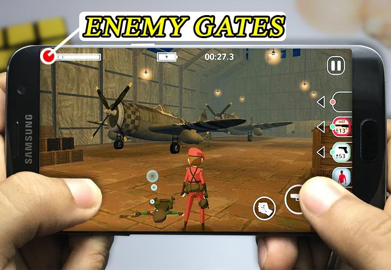 اللعبة 3: Eenemy Gates