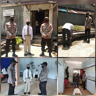 Personil Polsek Daik lingga Lakukan Pengamanan Di Gereja Pantekosta(GPdI) Penuba