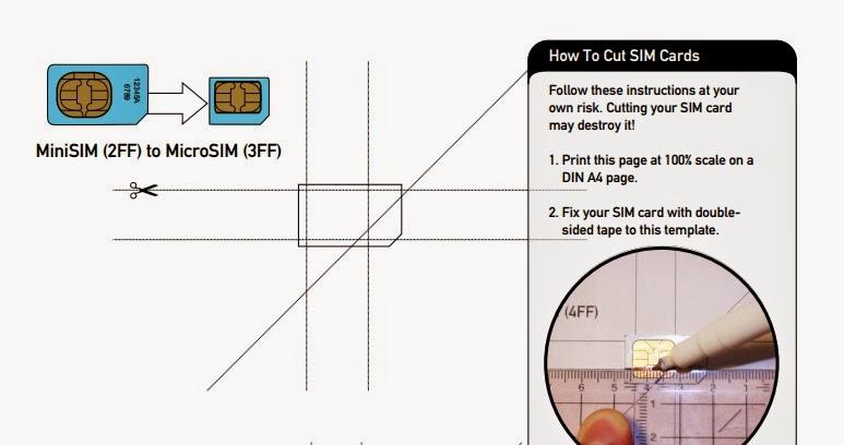 Blog do Bifecomfarofa Como transformar um cartão SIM em MicroSIM - micro sim template