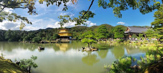 Visite de Kinkaku-ji Kyoto