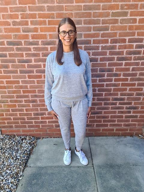 Grey Loungewear Tracksuit - Maria