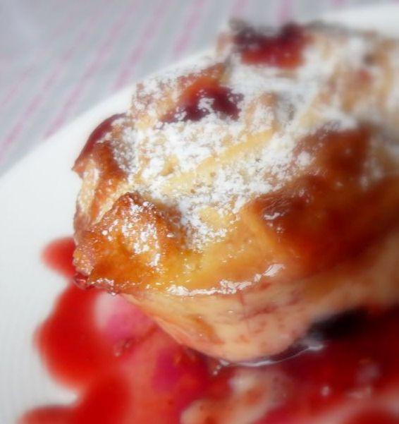 Berry Custard Cakes