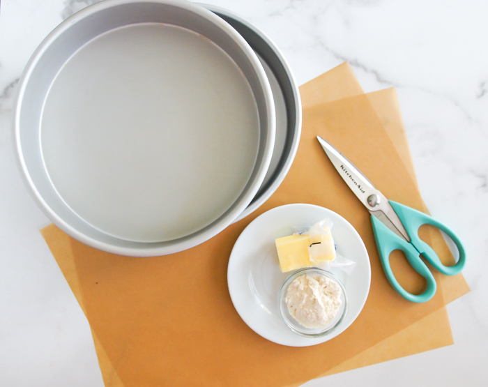How to Line Cake Pans with Parchment Paper