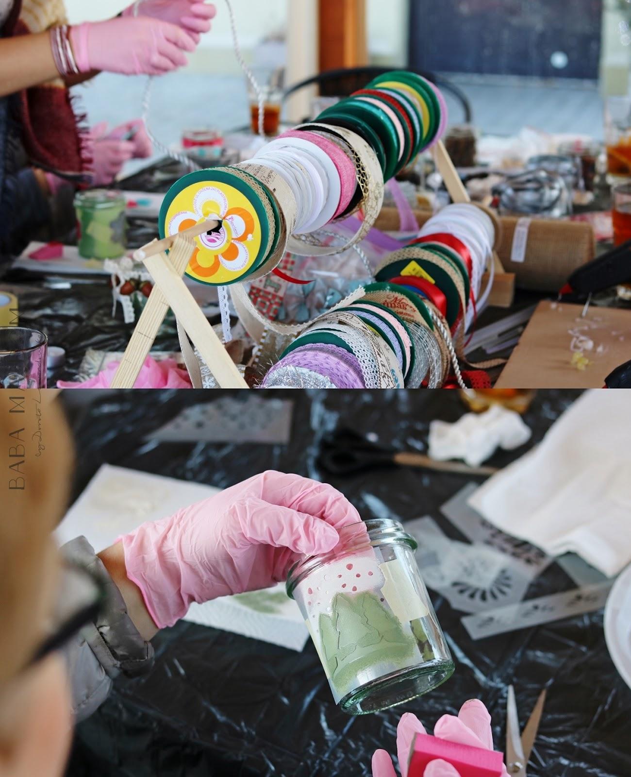 chalk, DIY, doityourself, farba kredowa, featured, majsterkowanie, malowanie, szablon, warsztaty, zrób to sam, lampion, święta, choinka, ozdoba, natura, drewno
