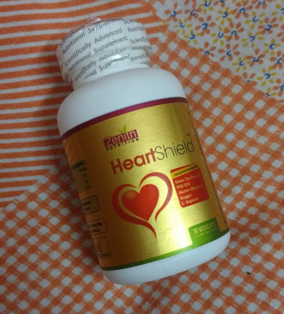 Zenith Nutrition Heart Shield Capsules Review and Pictures