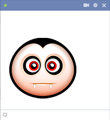 Vampire Facebook Emoticon