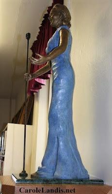 Carole Landis Statue
