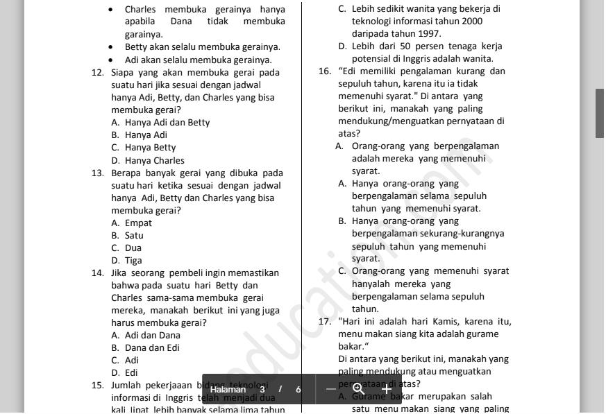 Contoh Soal Tes Psikologi Brigadir Polri Download File Guru