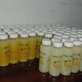 gambar Mendapatkan kulit bercahaya bebas noda dengan sari lemon lemone